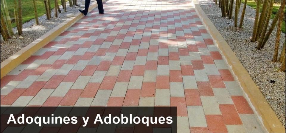 Adoquín y Adoblock